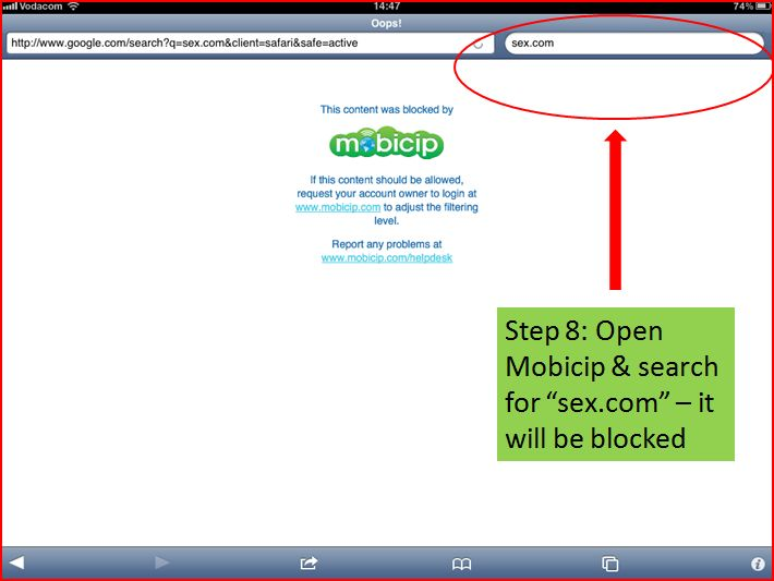 mobicip browser for apple ipad or iphone
